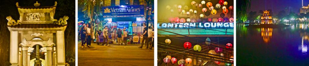 Hanoi at Night, Vietnam