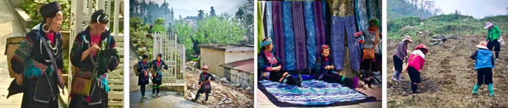 Hmong Women, Sapa, Sa Pa, Northern Vietnam