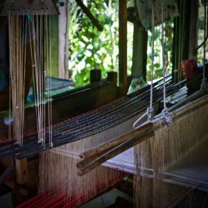 Silk Weavers, Silk Island, Silk Production, Silk Island, Phnom Penh, Cambodia