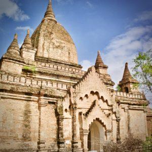 Smaller temples Bagan, Myanmar