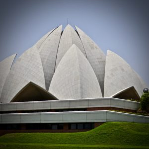 Lotus Temple, Ghandi Memorial Delhi, India