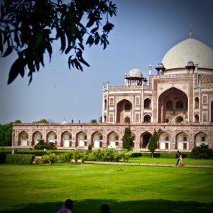 Red Fort & Majid Mosque Delhi, India